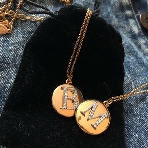 Joan Rivers Initial Necklaces (B or M)